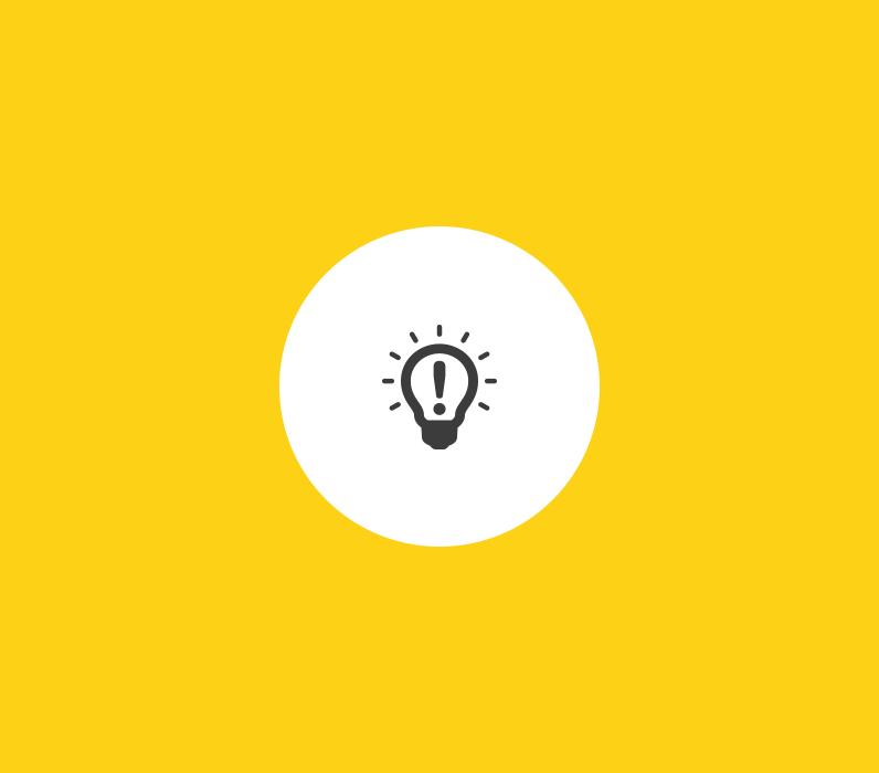 Icon Glühbirne
